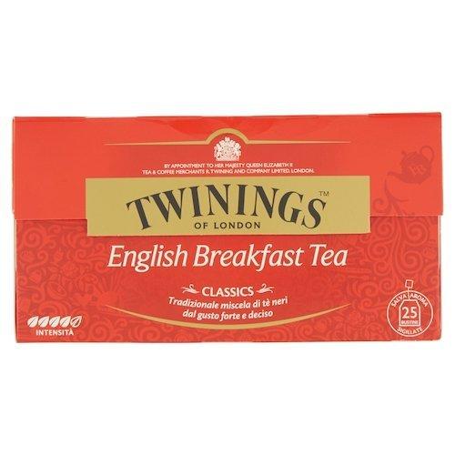 Twinings Te  English Breakfast, 25 x 2g