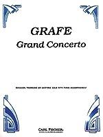 グラーフェ: 大協奏曲/カール・フィッシャー社/トロンボーンとピアノ