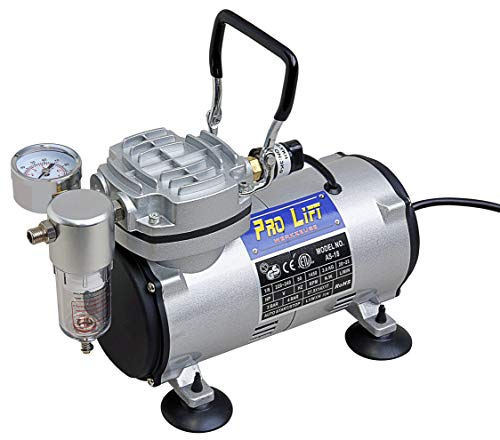Pro-Lift-Werkzeuge Airbrush Powerplus Kompressor...