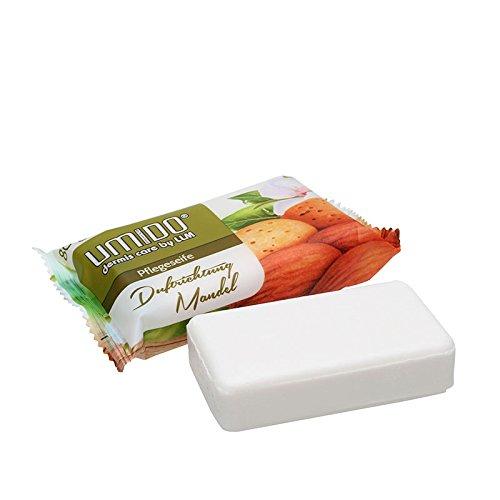 1x UMIDO Seife 80 g Mandel | Handseife | Waschstück | Seifenstück für ihre Körperpflege | Festseife (4-KPF)