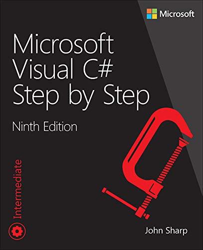 Microsoft Visual C# Step by Step (Developer Reference)