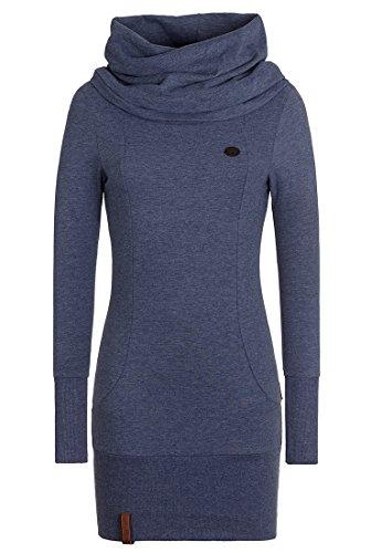 Naketano Female Sweatshirt Schniedelwutz V- Gr. S, Bluegrey Melange
