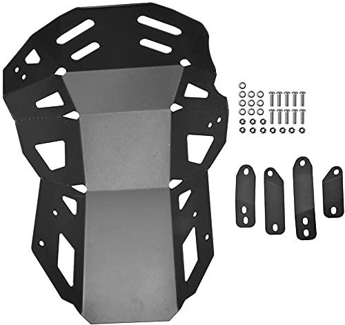 YGLIANHE Cubierta de protección del Motor de Motor Protección de protección del chasis Compatible con Kawasaki Versys 650 KLE 650 Placa de patín Accesorios de Motocicleta 19 2015-2021