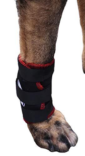 TSM 7501-XS Vet-Pro Hund Bandage für Vorderbein, XS, schwarz