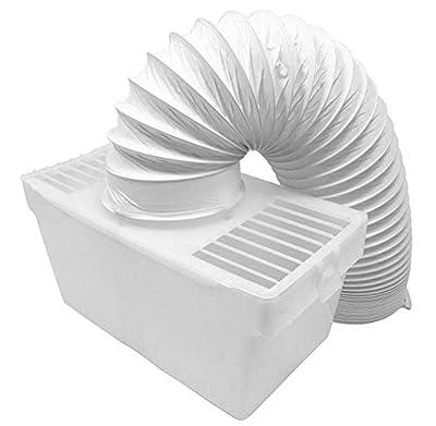 "FindASpare Universal Tumble Dryer Condenser Vent Hose & Box Kit 4""/1.20m"
