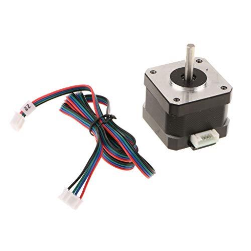 3D Printers 4-Lead Nema17 Stepper Motor 78Oz-in with Stepper Motor Driver A4988 Module