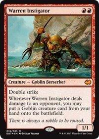 Wizards of the Coast Warren Instigator - Duel Decks: Merfolk vs. Goblins