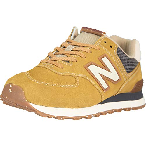 New Balance NB 574 Zapatillas, color Marrón, talla 42 EU