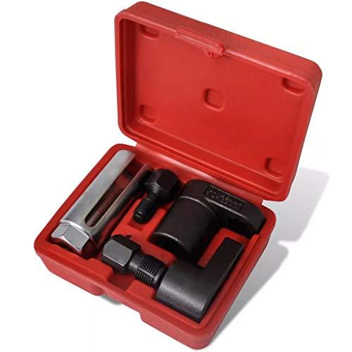 Coffret douilles en Chrome vanadium et acier au carbone pour sonde lambda et capteur d'oxygène Poids & 0,8kg