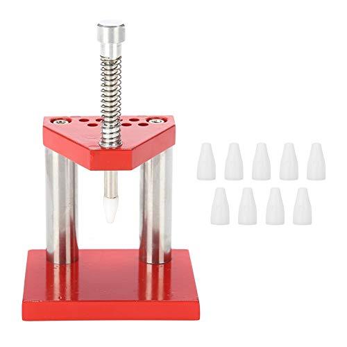 OhhGo Juego de extractor de mano de reloj extractor de mano de reloj de material de metal, herramienta de extracción de mano de reloj, de diferentes tamaños de relojes, hora mínima y segunda.