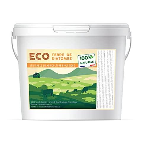 ECO Terre de Diatomee 5kg | Non Calcinée | Alimentaire E551c | 100% Naturel et écologique | Naturel Contre Les Insectes