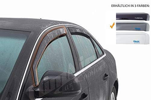 Vordere Windabweiser (1 Set)-CLI0033182 kompatibel zu Mitsubishi Outlander TYP CUOW, GLW, 5-Door, 2001-2006 US-Version