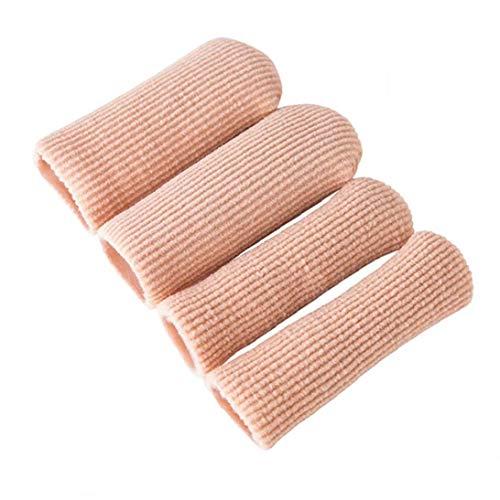 Asien Gerippten Stoff Gel Toe & Finger Caps/Protektoren Für Blisterpackungen Schwielen Corns Ingrown Nails Größe L
