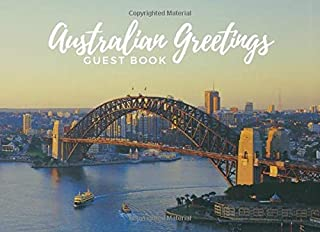 Australian Greetings - Guest Book: City Life Guest Book; prompts for 106 guests to share their experiences as well as empt...