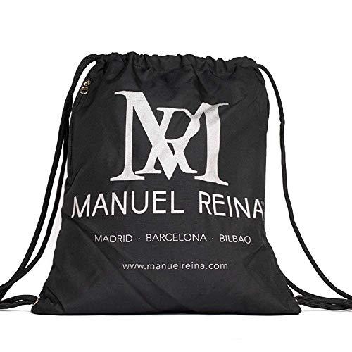 Manuel Reina Mochila Saco Bolsa de Cuerdas/bolsos de hombro/Negro/Bolsa de Baile/Trabajo, Diario...