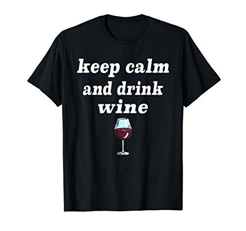 Vino bebedor de vino blanco vino tinto gracioso alcohol Camiseta