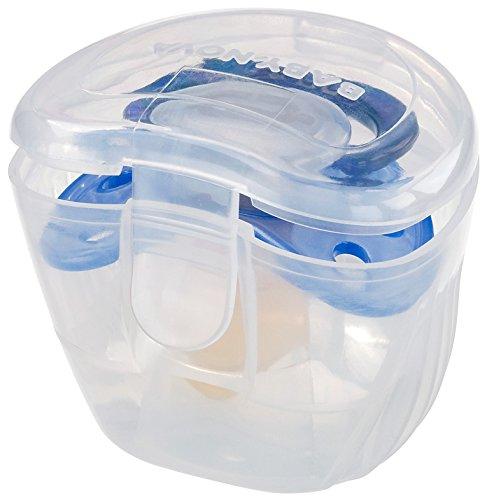 Dentistar Schnullerbox Desinfektionsbox Transparent