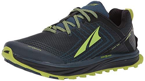ALTRA Men's AFM1957F TIMP 1.5 Trail Running Shoe, Blue/Lime - 9 D(M) US