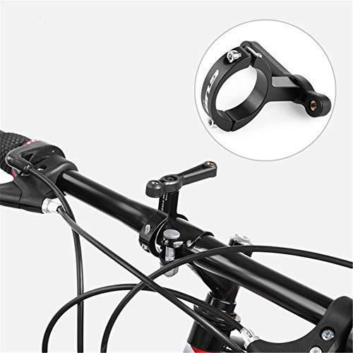 GUB G-21 Bicycle Handlebar Bottle Cage Adapter Adjust 30.6-33.9mm Rotation Bike Water Rack Clip Handlebar Seatpost Holder Clips Mount Black