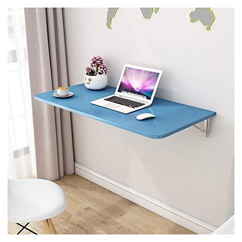 Escritorios flotantes para Espacios pequeños, Banco de Trabajo montado en la Pared, complemento hogar/Cocina/lavandería/Garaje/Mesa de Comedor (Color: Azul, Tamaño