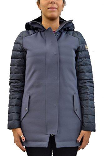 COLMAR Damen Parka 2128 Farbe Dunkelblau Herbst/Winter 2017/18 - Jacke mit Fester Kapuze - Outdoor - Made in Italy (42)