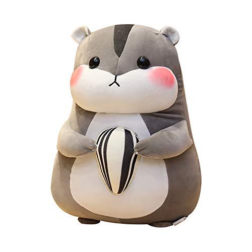 FENGHU Maus Plüsch Spielzeug Huggable Nice Cute Hamster Maus Plüschtier Gefüllte Weiche Tier Hamtaro Pilloq Weiche Kissen Kawaii Geburtstagsgeschenk Für Kinder
