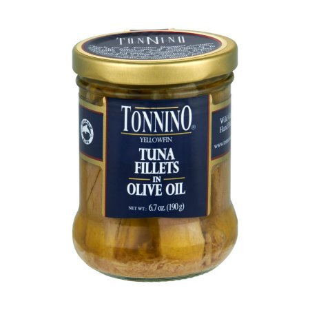 Tonnino Tuna Fillets OFFicial mail order In Max 86% OFF Olive Oil 4 oz 6. Jars 7