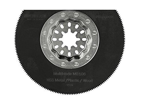 Multiblade Starlock Universell HSS Segmentsägeblatt 85mm (Holz, Metall, Kunststoff, Kitt) MB106