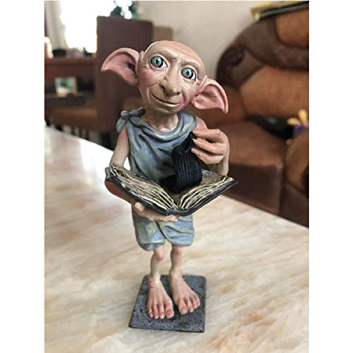 Anime Statue Modellgarage Kit Figur Harry Für Dobby Mit Buchkabel Puppe Actionfigur Sammlermodell Toy Boble Collection 13Cm