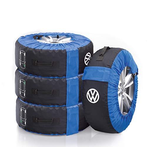 """Volkswagen 000073900 Reifentaschen bis 18\"""" Zoll Radgröße 4-teiliges Set"""