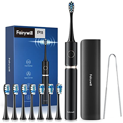 Electric Toothbrush, Fairywill PRO P11 Sonic Whitening Electric Toothbrushes for Adults, 62,000 VPC...