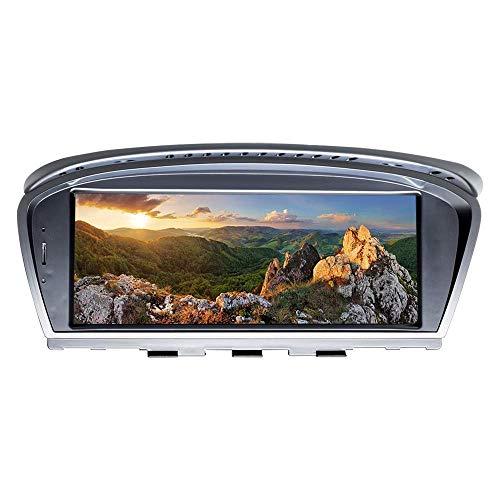 Autoradio Android 10 Navigatore GPS compatibile per BMW Serie 3 Serie 5 E90 E60 2009-2012 Sistema CIC Quad Core 2 GB di RAM 32 GB ROM con sistema iDrive mantenuto Touch screen da 8,8 pollici Suppo