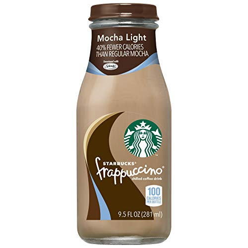 Starbucks Frappuccino, Mocha Light, 9.5 Fl. Oz (15 Count)