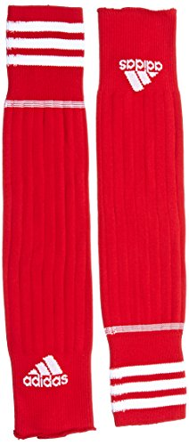 adidas 3 Stripe Stirru Medias, Hombre, Rojo (Rojoun / Blanco), 37-39