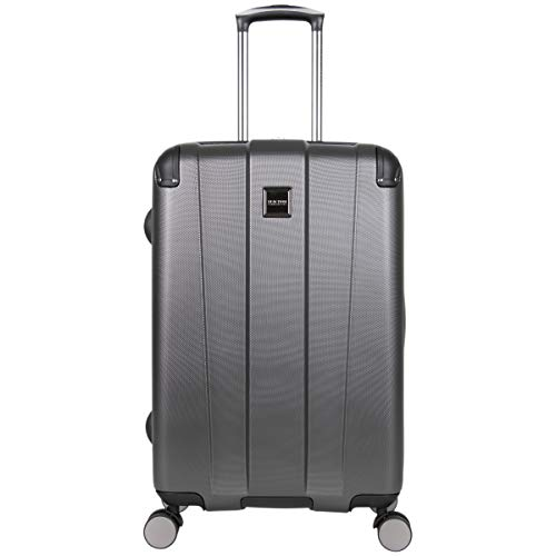 Kenneth Cole Reaction Continuum 24' Hardside 8-Wheel Expandable Upright Checked Spinner Luggage, Charcoal