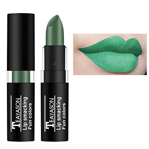 Lippenstift,2019 Neuer langlebiger Lipgloss Wasserdichter Flüssiger Mattlipgloss-Lipliner Cosmetics Dunkler Nackt Farbe Vampir Lipstick Make up Kosmetik