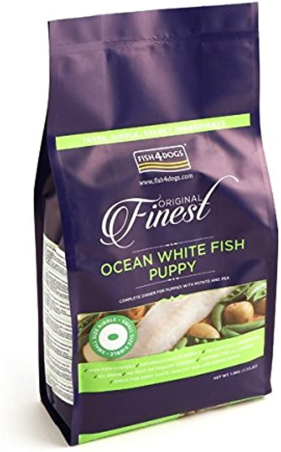 Fish4Puppies Finest Complete SmallBite Dry Mix 12 kg