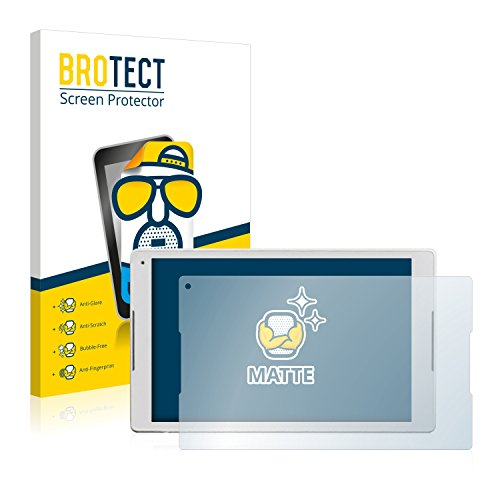 BROTECT 2X Entspiegelungs-Schutzfolie kompatibel mit Alcatel Plus 10 Bildschirmschutz-Folie Matt, Anti-Reflex, Anti-Fingerprint