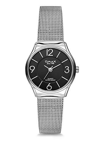 OMAX Reloj de pulsera para mujer SGM014I002