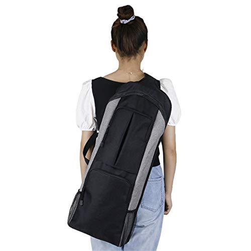 Aional Yoga Mat Bag Bag Bolsa de transporte Durable Impermeable 600D Encrypted Fabric Extra Wide, Correa de hombro ajustable