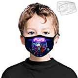 Kids Furi Anti Dust Face Mouth Reusable Washable Breathable Covering With 2 Filter For Boys Girls