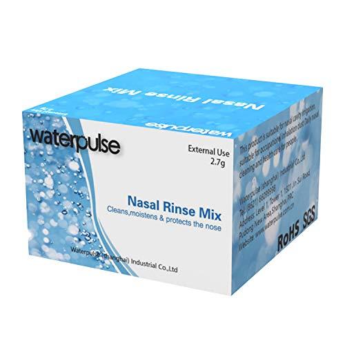 Nasenspülung Salz,nasendusche salz,30 Stk nose cleaner für die Nasendusche zur Reinigung der Nase bei Schnupfen Erkältung oder Pollen Allergie Nasenspülung