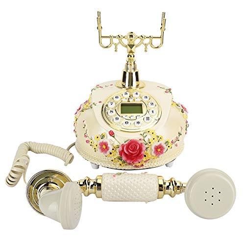 Weikeya Teléfono, Actual Expansible Sin Cable Teléfono Teléfono Línea Resina SRA-525a por Oficina Hogar