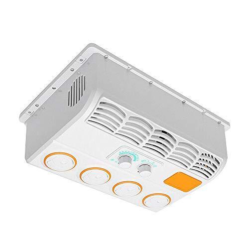 Tanti 12V Condizionatori Auto Raffreddatore d'Aria Sospeso Ventilatore per Aria Condizionata con Evaporatore per Auto per Camion Camper Escavatore
