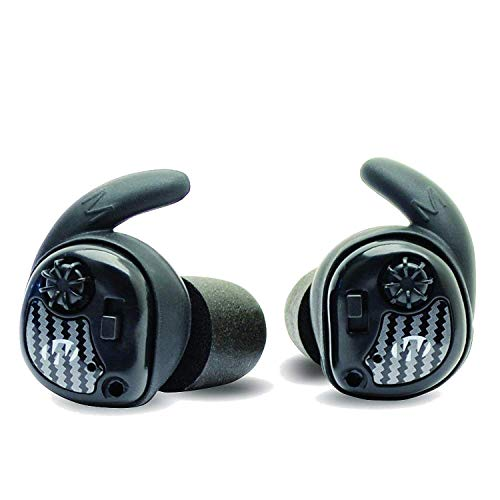 Walker's Silencer Digital Earbuds, Sound Activated Compression, NRR25dB, Dynamic Wind Reduction