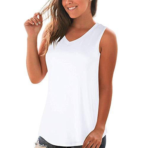 SKKG Damen V-Ausschnitt Stretch Gefaltete Bluse Mit Empire-Taille Und Kurzen ÄRmeln Damen Geraffte äRmellose Bluse Mit Wasserfallausschnitt T-Shirt