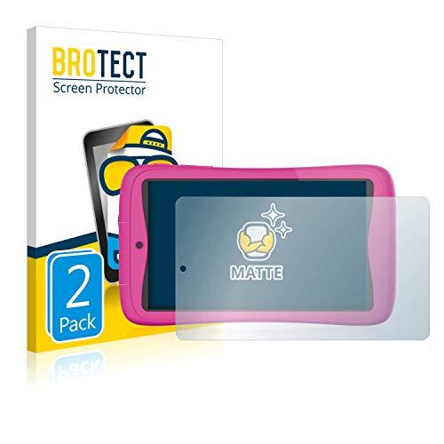 BROTECT 2X Entspiegelungs-Schutzfolie kompatibel mit Kurio Connect 7