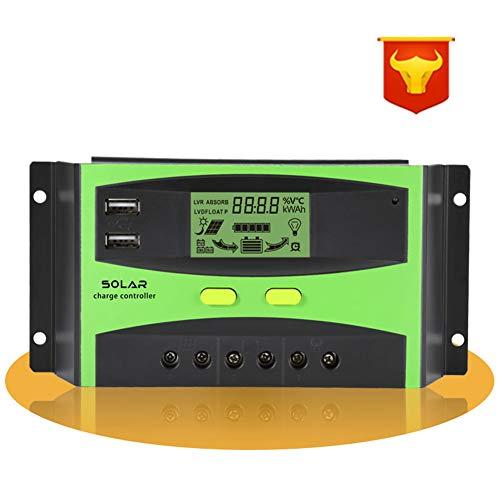 FairOnly LCD Display Solarregler Smart Solar Laderegler für Straßenbeleuchtung 20a-12v/24v