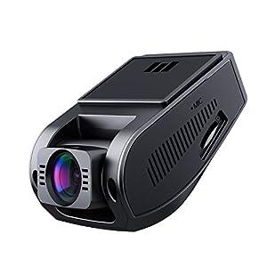 AUKEY Dashcam, Full HD 1080P Cámara para Coche 170° Grados de Amplio Ángulo con Detección De Movimiento, Visión Nocturna, G-Sensor, Loop de Grabación, 1.5″ LCD Pantalla (DR02)