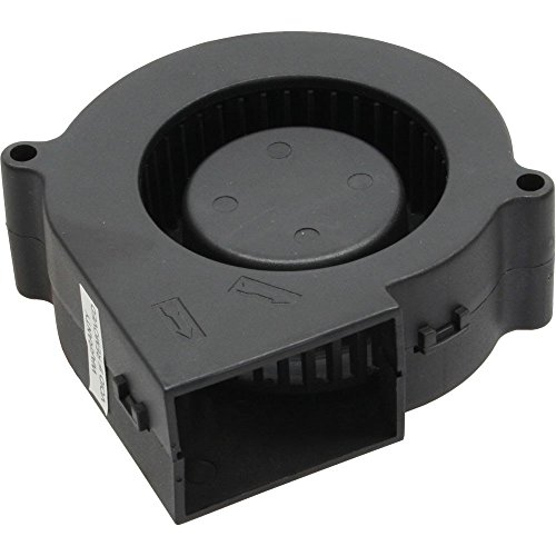 Titan TFD-B7530M12C Lüfter, 76,2 x 72 x 29,5mm, radial, kugelgelagert schwarz